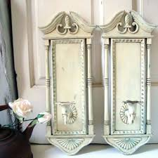 sconce shabby chic wall sconce lighting best 20 shabby chic wall