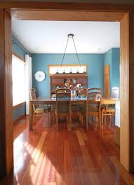 my dining room with oak trim paint color sherwin williams moody