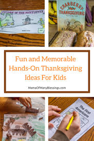 on and memorable thanksgiving ideas for