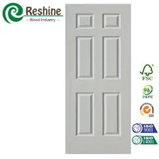 6 Panelled Interior Doors by 6 Panel Design White Primer Interior Door Buy Interior Door