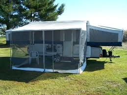 Power Awnings For Rv From Diy Rv Awning Screen Room Rv Power Awning Screen Room Jayco