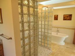 Bathroom Designs With Walk In Shower by Glass Block Bathroom Designs Master Bathrooms Design With Glass