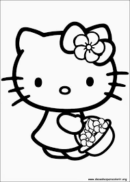 116 kitty images drawings coloring
