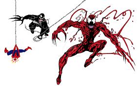 carnage venom spider man jesseallshouse deviantart