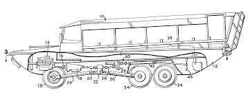 amphibious truck patent us6575796 amphibious vehicle drive train google patents