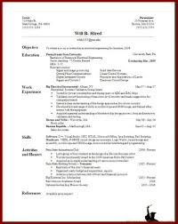Example Of Resume For A Job by Great Resumes