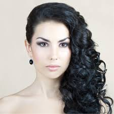 prom hairstyles side curls curly prom hairstyles for long hair to the side