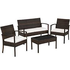 chaises salon de jardin tectake salon de jardin table de jardin en resine tressee chaises