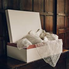 wedding dress boxes bespoke wedding dress box by the safekeeping society
