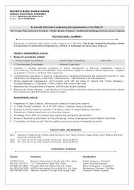 Sample Resume Electrician by Lead Electrical Engineer Sample Resume Haadyaooverbayresort Com