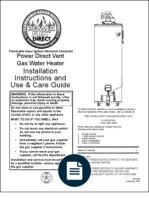 ariston micro genus 23mffi 27mffi pdf thermostat water heating