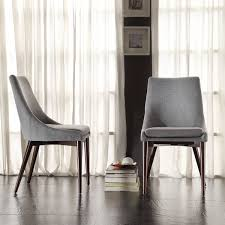 Best  Dining Chairs Ideas Only On Pinterest Chair Design - Grey fabric dining room chairs