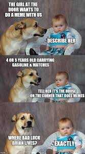 dad joke dog meme imgflip
