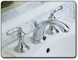 Polished Brass Bathroom Faucets Widespread Kohler K 394 4 Pb Devonshire Widespread Lavatory Faucet Vibrant