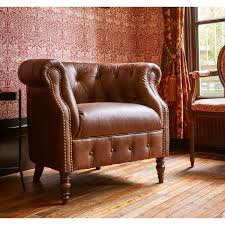 Leather Armchairs Vintage Grampian Furnishers Jude Leather Chair Alexander And James