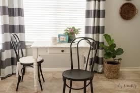 easy no sew round seat cushions diy beautify