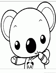koala coloring pages 2