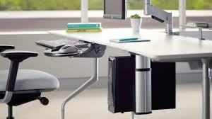 steelcase computer desk