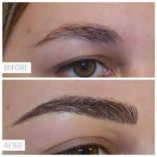 feather touch natural looking brow tattoo by isabel aleisha