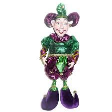 mardi gras joker jester mardi gras doll mardi gras party supply