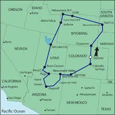 map us national parks wondrous national parks self drive tour