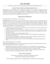 resume cv cover letter retail resume template 10 free samples