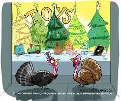 thanksgiving vs turkeys