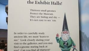 find the gnomes at thanksgiving point dinosaur museum utah s