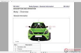 100 ford focus st 2007 workshop manual repair or replace
