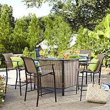 Sears Outdoor Rugs Contemporary Patio Bar Sets With Regard To Outdoor Bars Sears