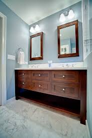 Bathrooms With Double Vanities Blue Bathroom Double Vanity Griffin Custom Cabinets