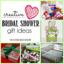 ideas for creative bridal shower gifts