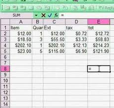 How To Set Up Spreadsheet In Excel Excel Spread Sheet Basics A Formula