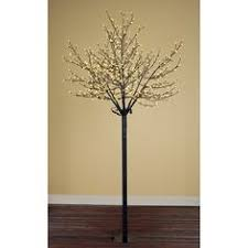 6 ft pre lit led blue twinkling tree sculpture with oh my