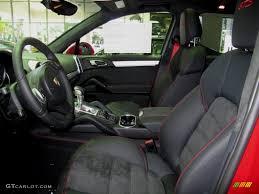 Porsche Cayenne Red Interior - 2013 carmine red porsche cayenne gts 72867737 photo 8 gtcarlot