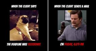 Meme Advertising - art director creates memes that show what a designer s life is