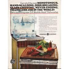 General Electric Dishwasher 1966 General Electric Dishwasher Vintage Ad