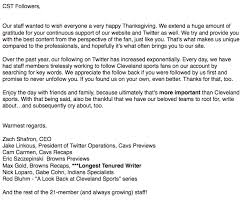 cleveland sports talk on a special thanksgiving