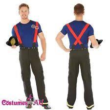 fireman costume fireman men s costumes ebay