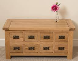 Cottage Coffee Table Cottage Oak Storage Coffee Table Free Uk Delivery
