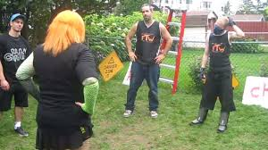 miniak u0026 vs team ftw chw backyard wrestling youtube