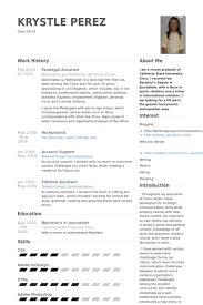 Corporate Paralegal Resume Sample Paralegal Resume Samples Visualcv Resume Samples Database