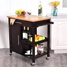 butcher block kitchen island cart granite top kitchen island cart movable island granite top kitchen