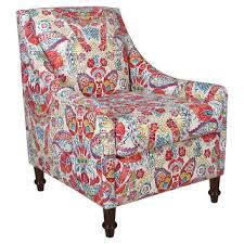 Swoop Arm Chair Design Ideas Best Floral Accent Chairs Products On Wanelo Throughout Swoop Arm