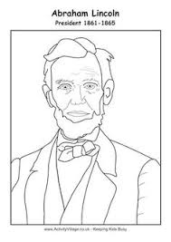 lincoln coloring pages native american boy colour by pattern education printables