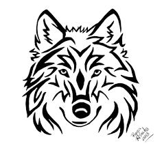 tribal wolf by rayahinato on deviantart