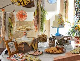 bohemian baby shower boho chic party ideas for a baby shower catch my party