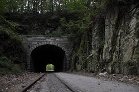 Ncr Trail Map Terrified In A Ghostly Railroad Tunnel Who You Gonna Call