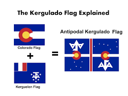 State Flag Of Colorado The Voice Of Vexillology Flags U0026 Heraldry Colorado Kerguelen