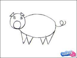 how to draw pig hellokids com